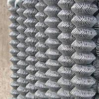 Сетка рабица оцинкованная 45х45х2(1,5х10), фото 1