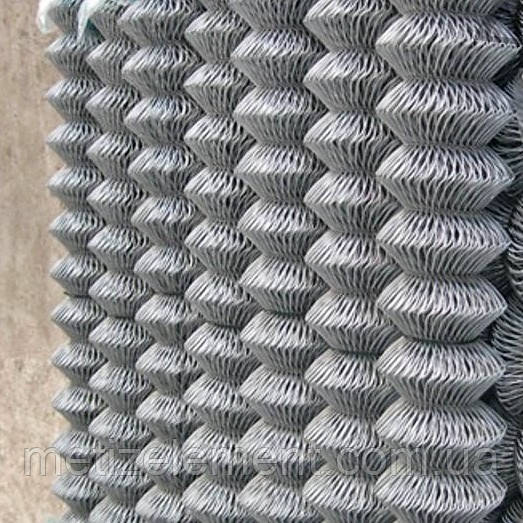 Сетка рабица оцинкованная 50х50х2,5(1,5х10)