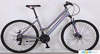 Спортивный  велосипед 28 дюймов (18 рама) CROSSER MAGIC WOMANсерый***