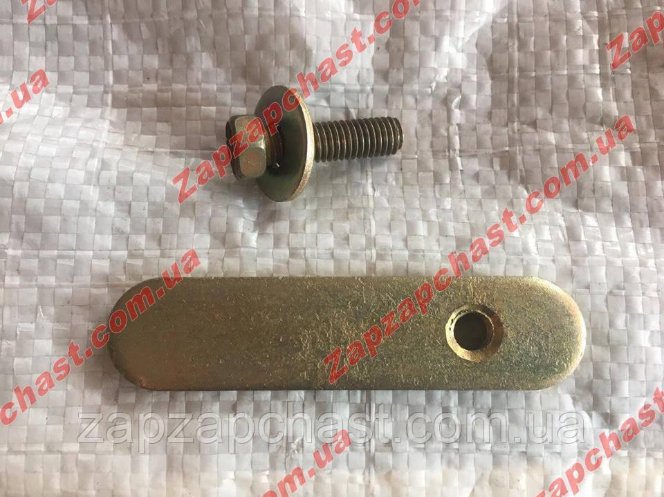 Пластина (скоба) крепления защиты двигателя ланос lanos сенс sens
