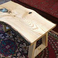 Журнальный столик из слэба