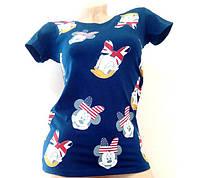 Женская футболка с рисунком 88527