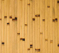 Бамбукові шпалери світлі / обпалені BW 208 17мм / Бамбуковые обои светлые / обожженные BW 208 17мм