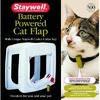 Staywell ПРОГРАМ дверцы для котов, с программным ключом, белый белый