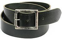 Мужской кожаный ремень под джинсы, Tom Tailor, Германия, 100085 черный, 4,5х113 см