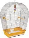 ТМ Природа. Клетка «Арка большая» Клетка для мелких и средних декоративных птиц хромированное покрытие