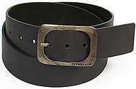 Мужской кожаный ремень под джинсы, Cramer&Co, Германия, 100154 серый, 4,5х116 см