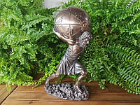 "Подарочная статуэтка-шкатулка Veronese ""Атлант"" (28 см) 76373A4"