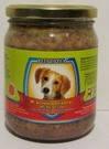 Леопольд Мясные деликатесы с мясом и овощами для собак 500 гр