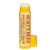 Бальзам для губ с перечной мятой и витамином Е BURT'S BEES BEESWAX STICK LIP BALM
