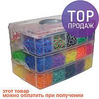 Набор для плетения Rainbow Loom Bands, 12000 резиночек (станок в комплекте) / Резинки для плетения браслетов