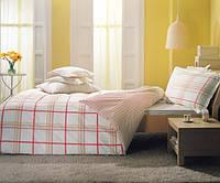 Двуспальное евро постельное белье TAC Vertigo Pink Перкаль