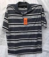 Мужская футболка с воротником.