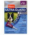 Hartz Ultra Guard  Plus Flea s Tick Drops for Dogs s Puppies 4 в 1  Капли от блох, блошиных яиц, клещей и комаров для собак от 14 до 27 кг 3 пипетки