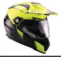 Мотоциклетный шлем NAXA ENDURO CO3/F r.L+BLENDA+Cтекло, фото 1