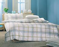 Двуспальное евро постельное белье TAC Vertigo Turquoise Перкаль