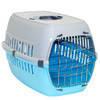 Moderna РОУД-РАННЕР 2 переноска для собак с металлической дверью, 58Х35Х37 см кобальт синий