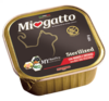 """Morando """"Miogatto Sterilized Beef and Vegetables""""- консервы с говядиной и овощами для взрослых кастрированных и стерилизованных котов и кошек. 100 гр"""