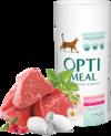 Optimeal High in Veal Сухой корм для взрослых кошек с телятиной 650 гр