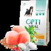Optimeal сухой корм для собак крупных пород с курицей 4 кг