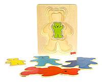 Головоломка goki Разноцветные мишки 57884
