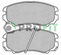 Колодки тормозные передние PROFIT  5000-1733 C