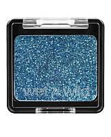 Компактные глиттер-блестки голубые Wet n Wild Color Icon Glitter Single 357B Distortion