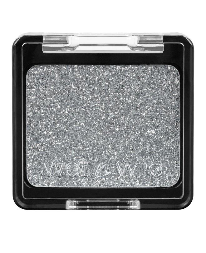 Компактные глиттер-блестки серебро Wet n Wild Color Icon Glitter Single 353B Spiked, фото 1