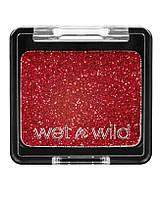 Компактные глиттер-блестки красные Wet n Wild Color Icon Glitter Single 356B Vices