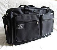 Мужская сумка Wallaby 2760 черная барсетка через плечо портфель А4+ 38x24x16см