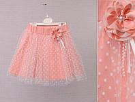 Летняя юбка для девочки 3,4,5лет Breeze Girls