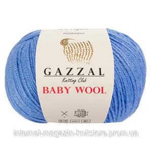 Пряжа Gazzal Baby Wool Синий