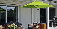 Солнцезащитный  зонт на центральной ноге Style (Швейцария Glatz)