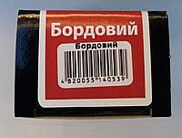 Крем бордовый для гладкой кожи с губкой Блискавка 75мл, фото 1