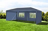 Садовый павильон, Палатка 3x6м + 6 стенок, синий PE