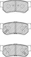 Колодки тормозные задние FERODO FDB4247