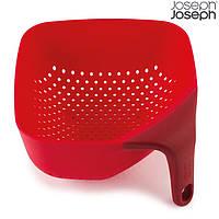 Дуршлаг Joseph Joseph Square Colander Medium красный 40060