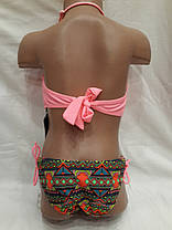 Детский и подростковый купальник 517581 Алина  розово-персиковый,идет на наши 32,34,36  размеры., фото 2