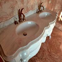 Столешница из мрамора Daino Reale (Италия) Плита 20 мм