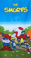 Полотенце пляжное для детей Smurfs