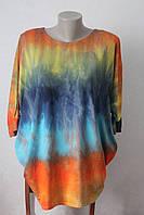 Блуза кимоно цветное - 2
