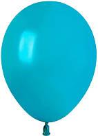 """Латексный воздушный шар GEMAR 10"""" пастель бирюзовый"""