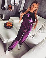 Бархатный спортивный костюм н-t1805407