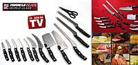 Набор кухонных ножей с подставкой Miracle Blade, профессиональные ножы
