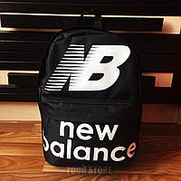 Мужской спортивный рюкзак  New Balance черный