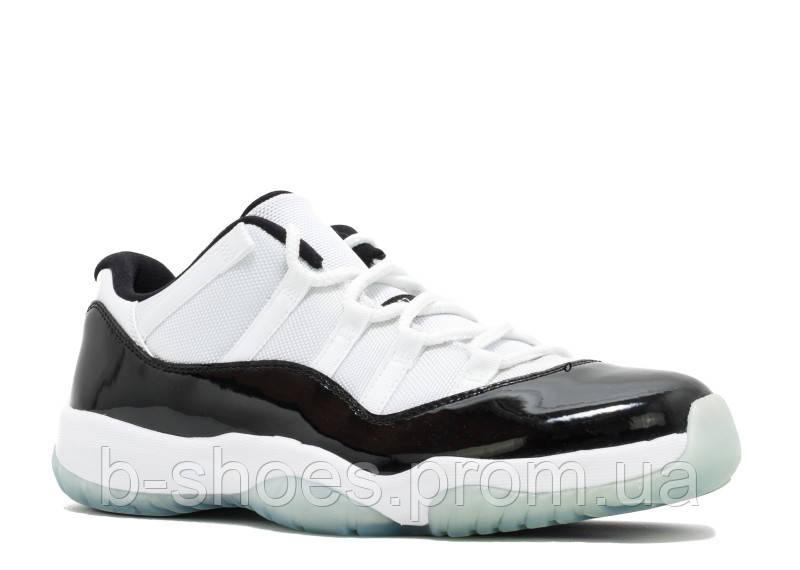 ... Мужские баскетбольные кроссовки Air Jordan Retro 11 Low (White Black),  ... f96e6f8fb11