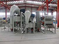 Оборудование для очистки ядра подсолнечника