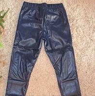 Лосины кожаные для девочек 116-146