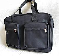Мужская сумка через плечо Барсетка деловая А4+ 42х28х14см