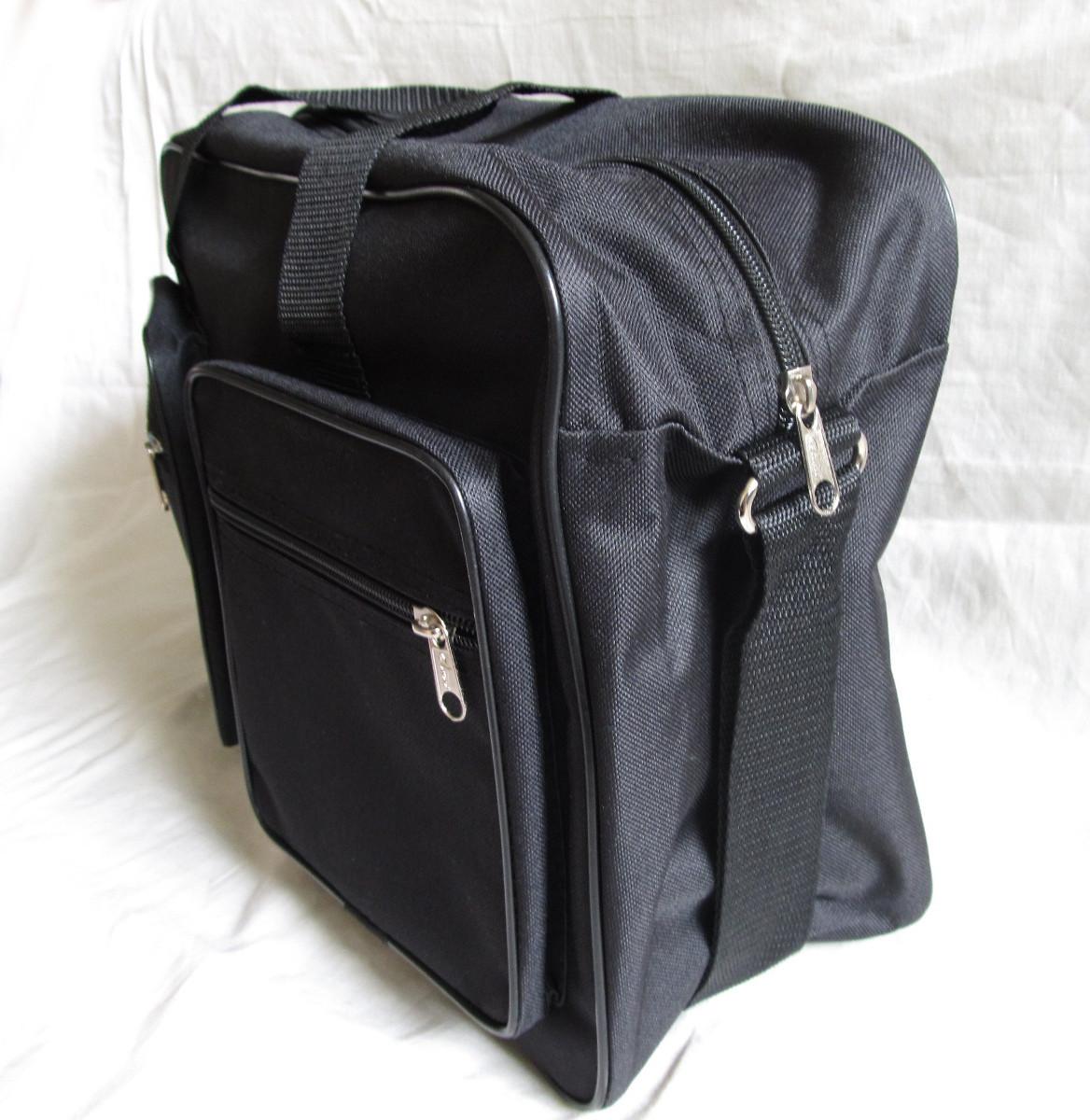 490f2b2bbe99 Мужская сумка Wallaby 2670 черная барсетка через плечо папка портфель А4+  42х28х14см, ...